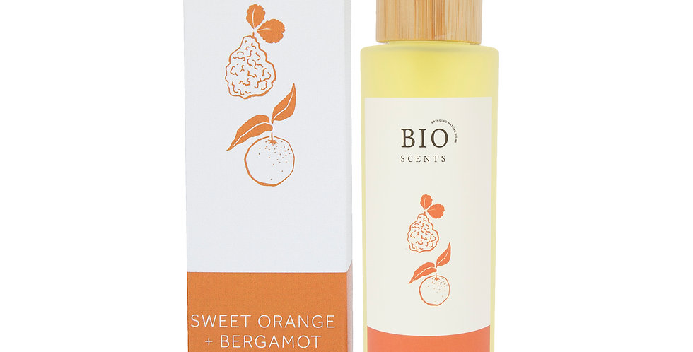 Organic Sweet Orange & Bergamot Body Oil 100ml - Bio Scents