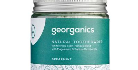 Spearmint Toothpowder 120ml - Georganics