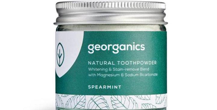 Spearmint Toothpowder 60ml - Georganics