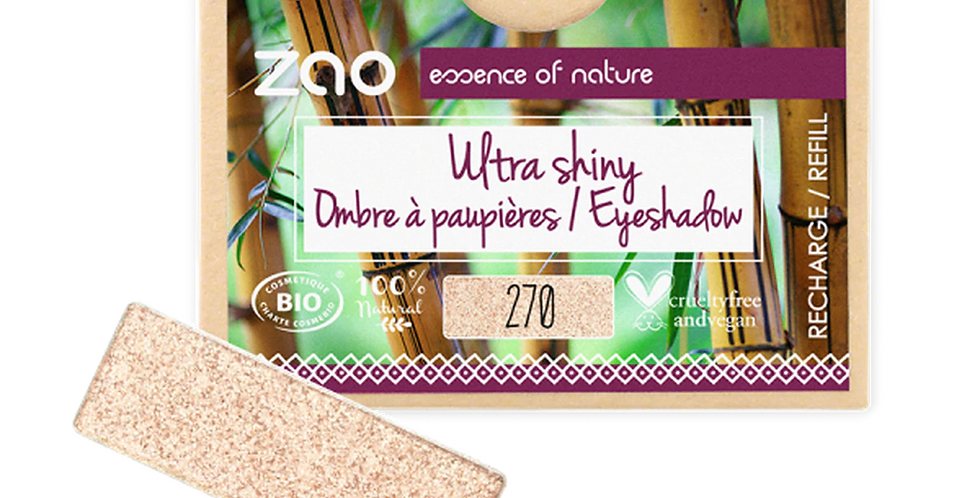 PAPER REFILL Rectangle Ultra Pearly Eyeshadow - Zao Makeup