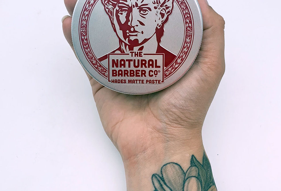Hades Matte Paste Light Hold Hair Wax 100g - The Natural Barber Co