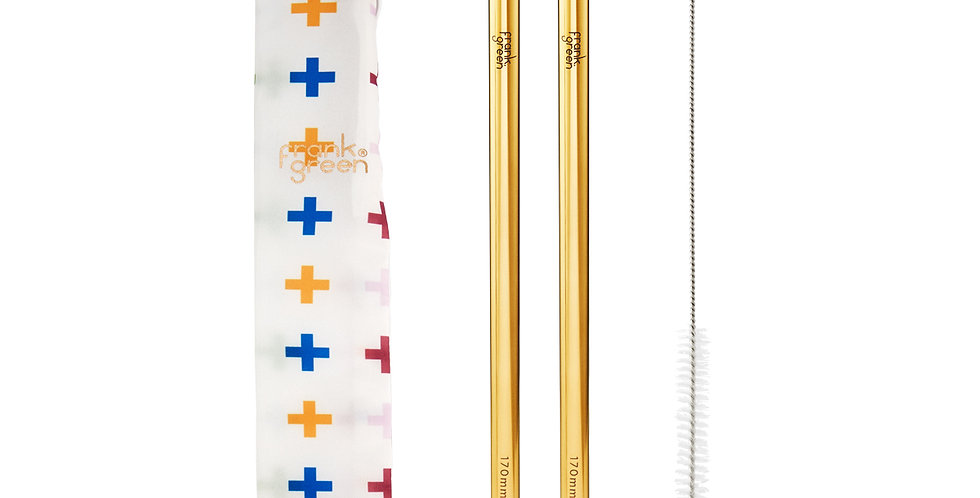 Frank Green Reusable Straw Set - Crosses