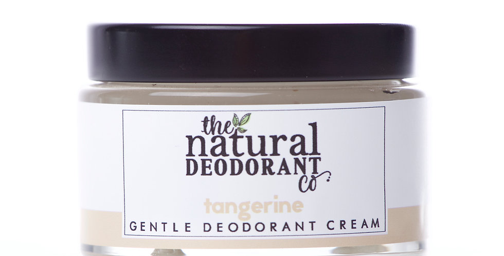 Baking Soda Free Deodorant Cream Tangerine 55g - The Natural Deodorant Co