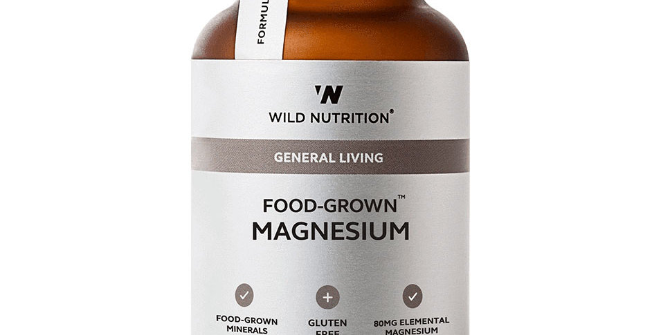 Food-Grown® Magnesium - Wild Nutrition