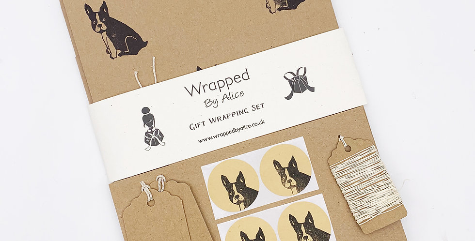 Frenchie Wrapping Set - Wrapped by Alice