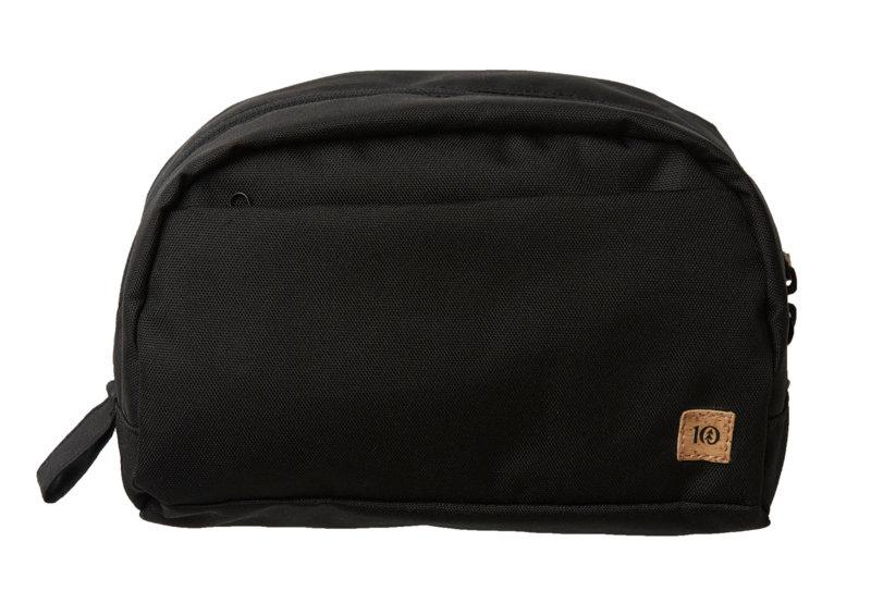 Tentree Quest 4L Toiletry Bag - Meteorite Black