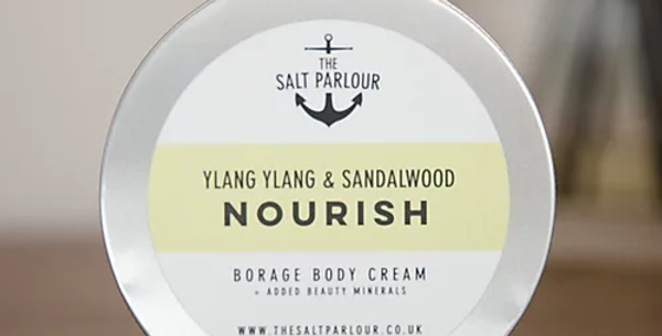 Borage Body Cream NOURISH 200ml - The Salt Parlour