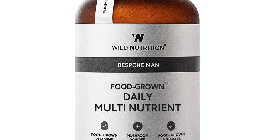 Men's Food-Grown® Daily Multi Nutrient - Wild Nutrition