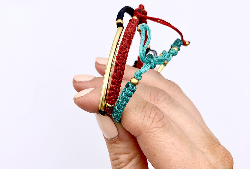 Dali Bracelet Black - Nkuku