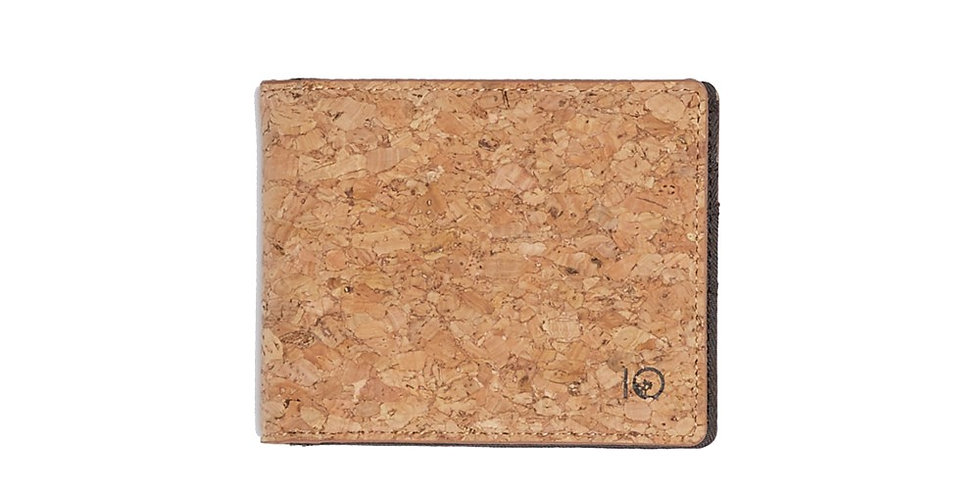 Tentree Baron Bi-Fold Wallet - Cork
