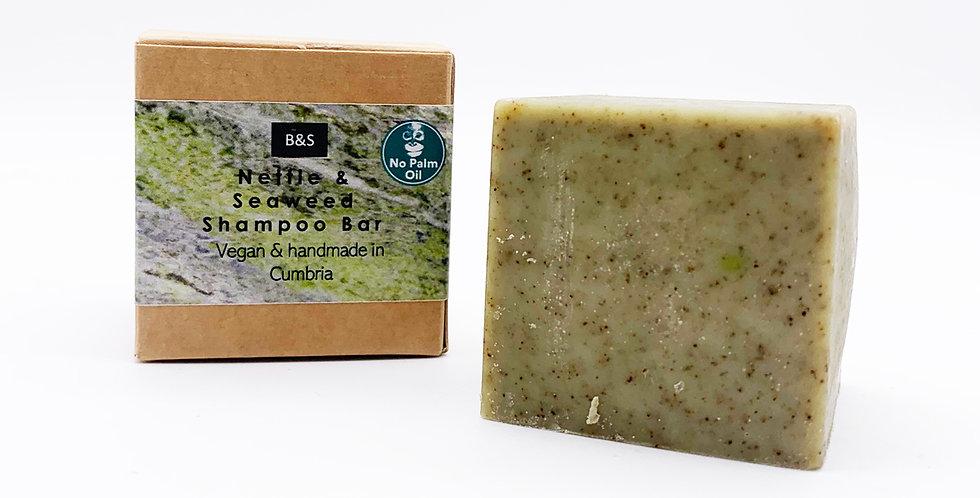 Nettle & Seaweed Shampoo Bar 130g - Bain & Savon