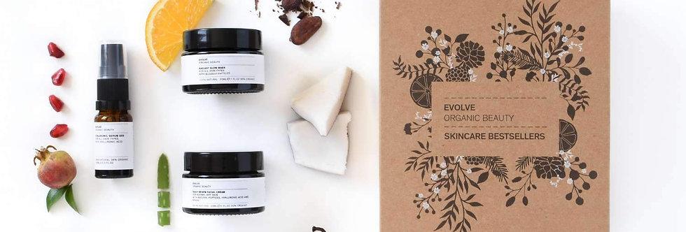 Organic Skincare Bestsellers Gift Set - Evolve Beauty