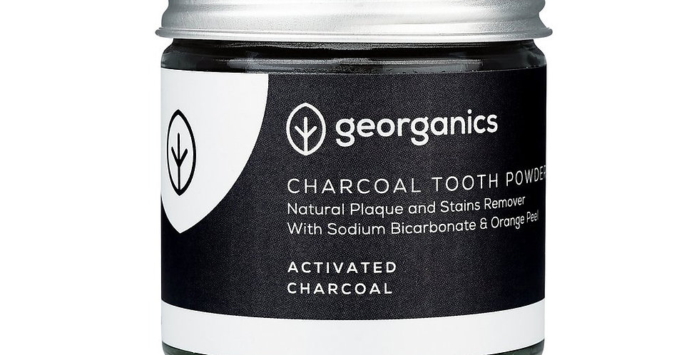 Activated Charcoal Toothpowder 60ml - Georganics
