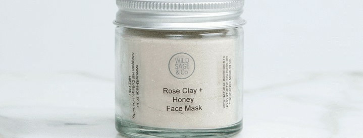 Honey and Rose Face Mask - Wild Sage + Co