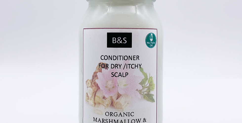 Marshmallow & Chickweed Conditioner for Dry/Itchy Scalp 175ml - Bain + Savon