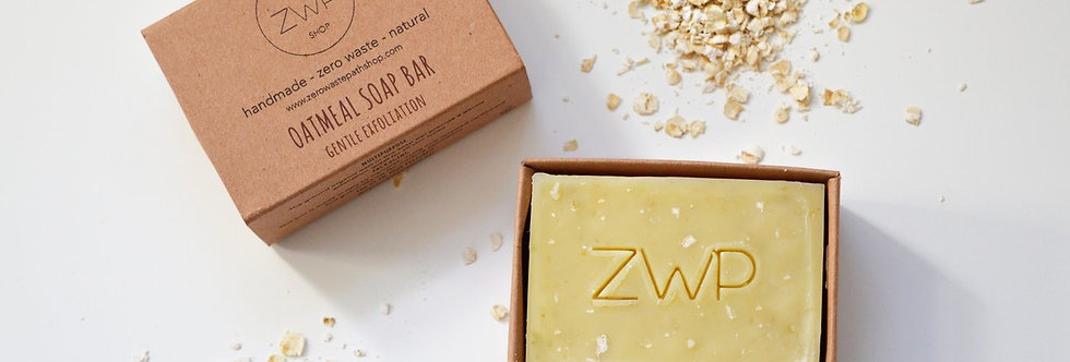 Oatmeal Soap Bar 100g - Zero Waste Path
