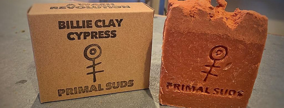 Primal Suds Billie Clay Cypress Soap 120g