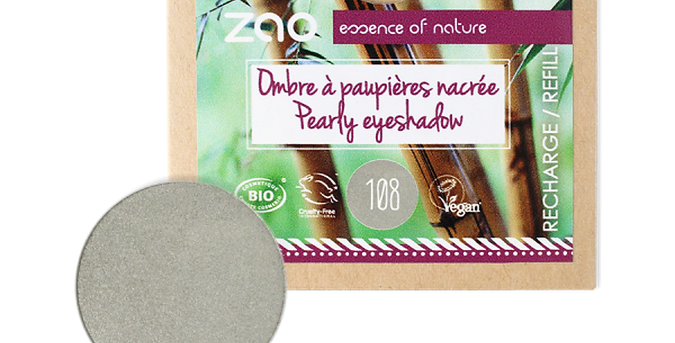 PAPER REFILL Bright Pearly Eyeshadow - Zao Makeup