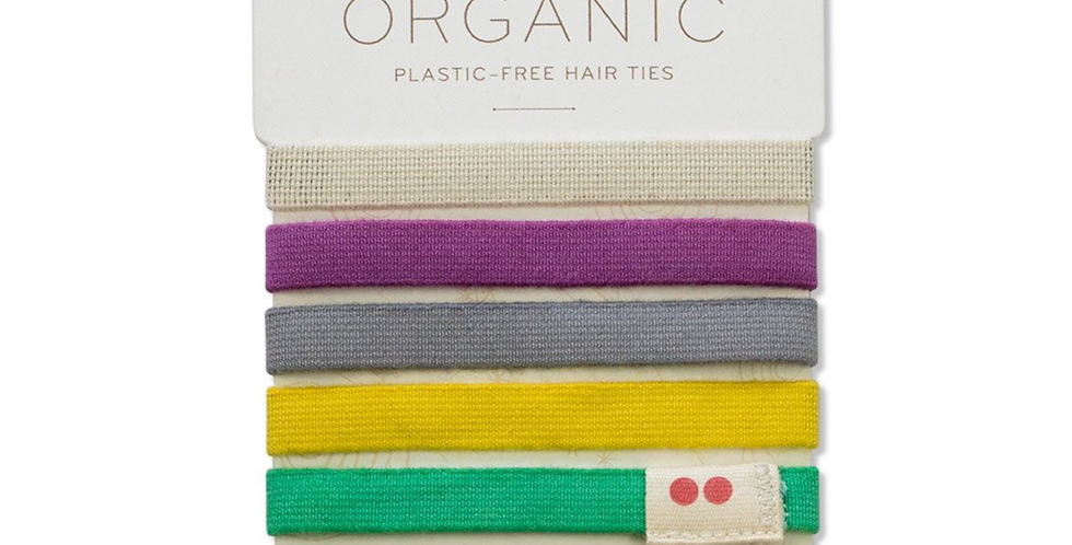 KOOSHOO Organic Hair Bobbles - Colourful