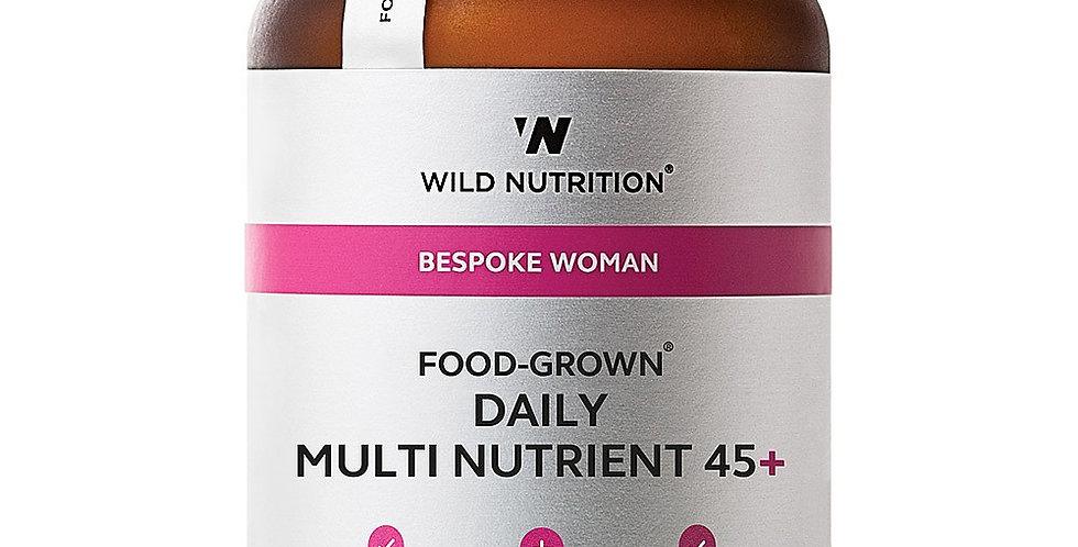 Women's 45+ Food-Grown® Daily Multi Nutrient - Wild Nutrition