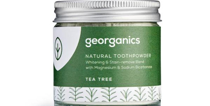 Tea Tree Toothpowder 60ml - Georganics