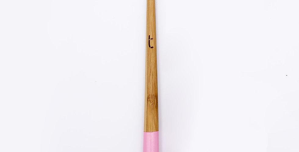 Zero Waste Toothbrush Medium Petal Pink - Truthbrush