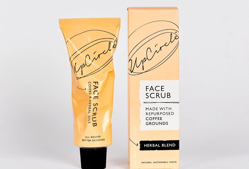 Coffee Face Scrub Herbal Blend 100ml - UpCircle