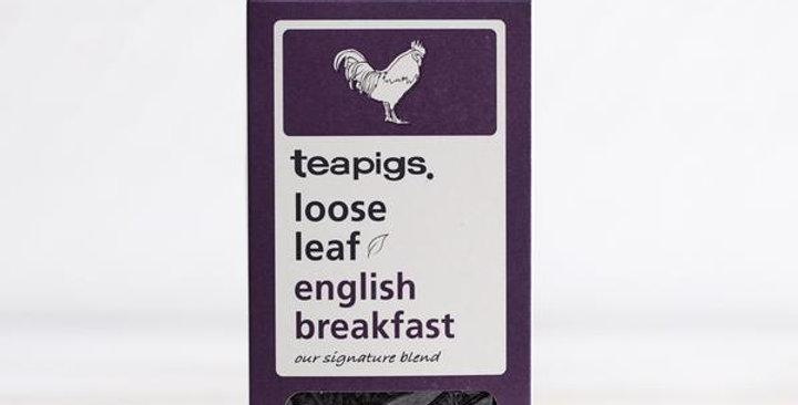 English Breakfast Loose Leaf Tea 100g - Teapigs