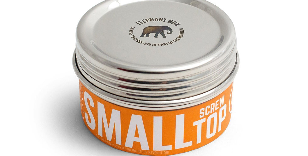 Small Twist Canister - Elephant Box