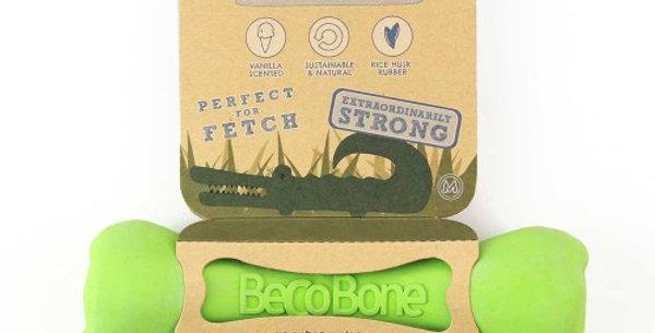 Natural Rubber Chew Bone Green - Beco