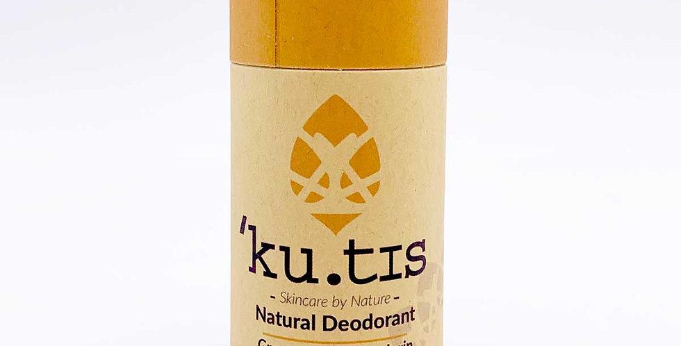 VEGAN Grapefruit & Mandarin Deodorant 55g - Kutis Skincare