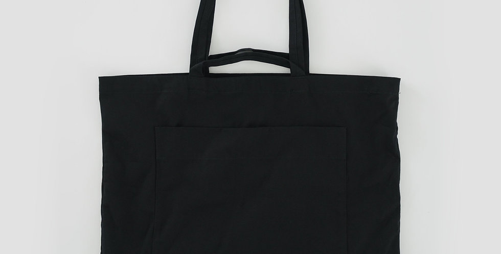 BAGGU Giant Pocket Tote Bag - Black