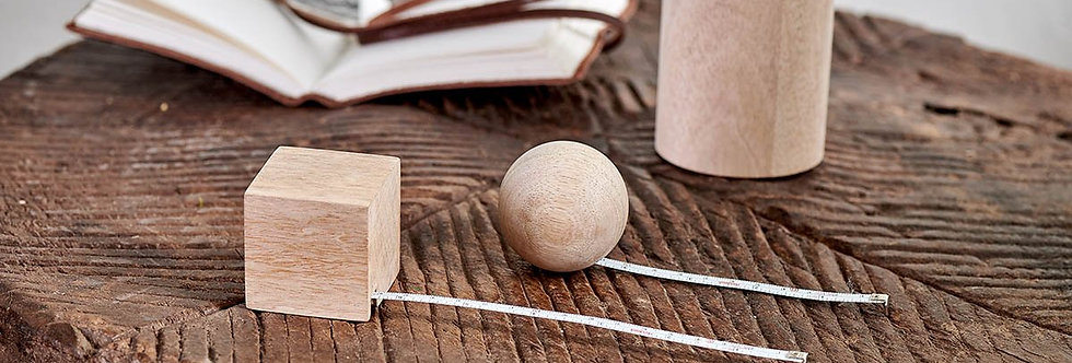 Hansa Wooden Tape Measure Ball - Nkuku