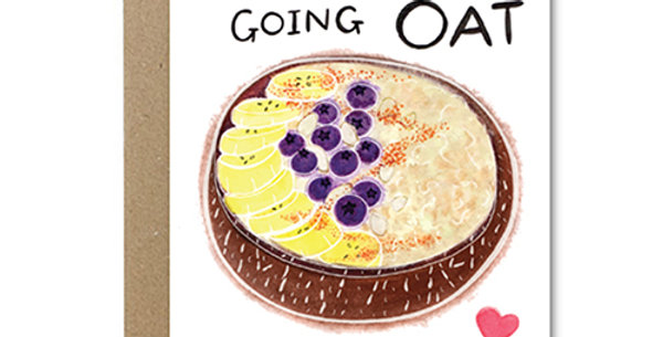 I Love Going Oat With You Card - Rose & Daff