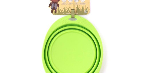 Collapsible Travel Bowl Green - Beco