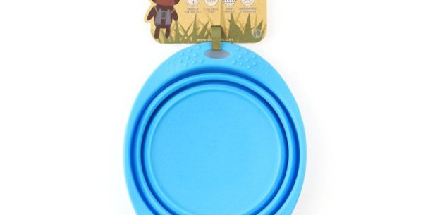 Collapsible Travel Bowl Blue - Beco