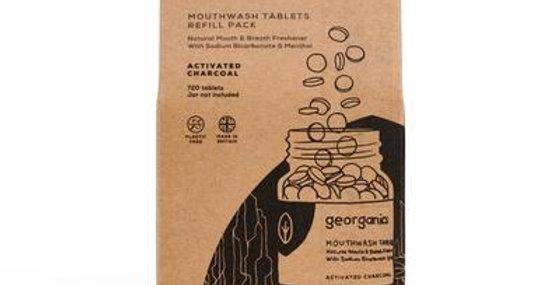 Mouthwash Tablets Charcoal x720 Tablets - Georganics
