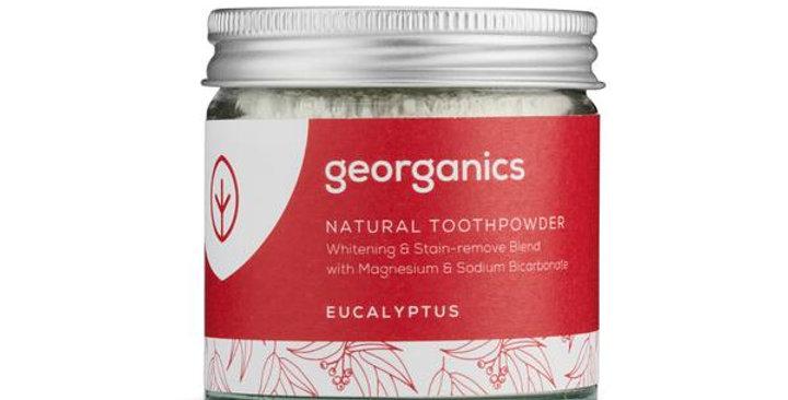 Eucalyptus Toothpowder 60ml - Georganics