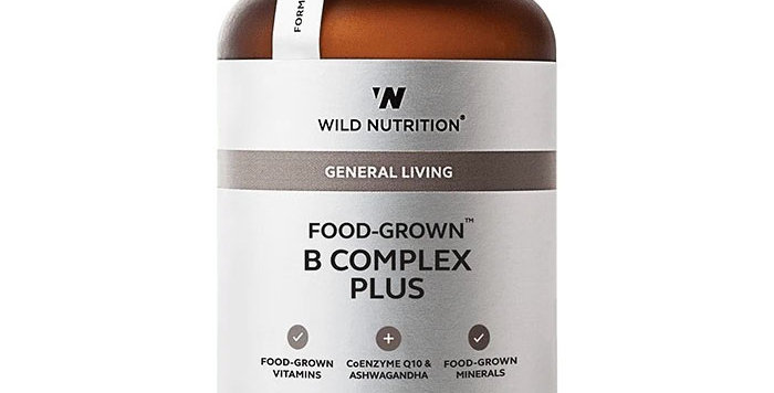 B Complex Food-Grown® Daily Multi Nutrient - Wild Nutrition