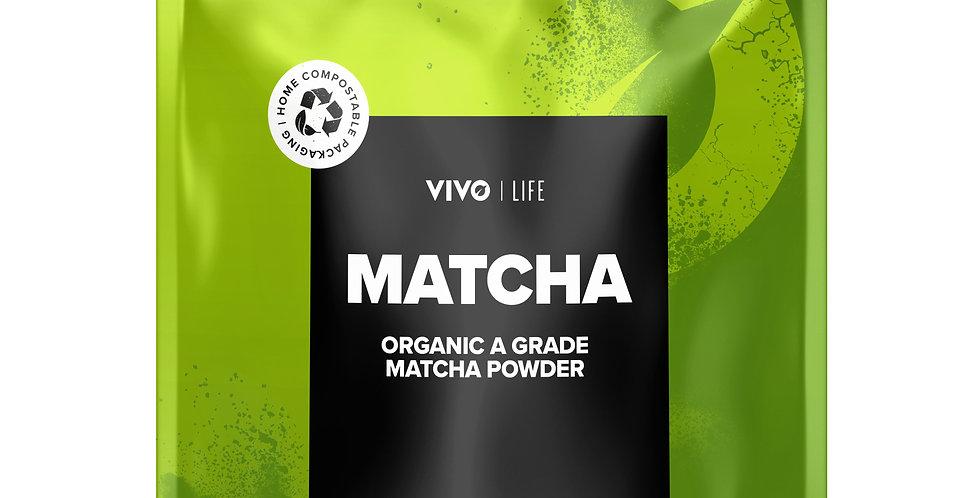 Vegan Organic Matcha Powder 80g - Vivo Life