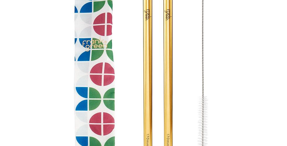 Frank Green Reusable Straw Set - Circles