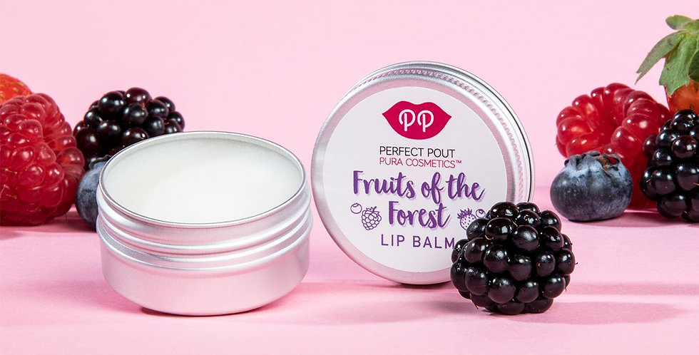 Fruits of The Forest Lip Balm - Pura Cosmetics