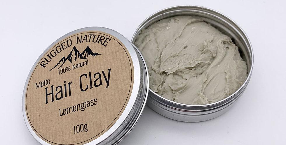 Sandalwood Hair Clay 100g - Rugged Nature
