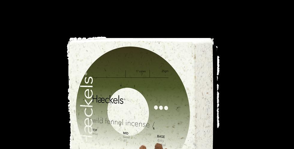 Haeckels Wild Fennel Incense Cones
