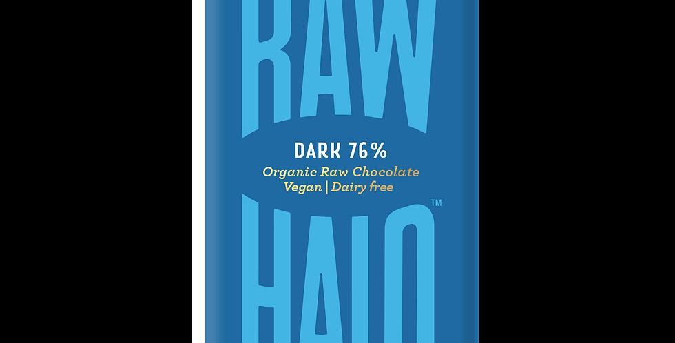 Raw Halo Dark 76% Vegan Chocolate - 22g