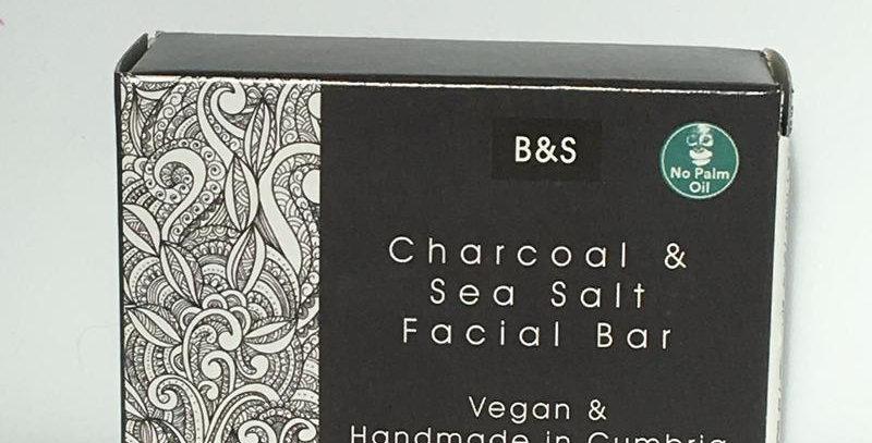 Charcoal & Sea Salt Soap Bar - Bain + Savon