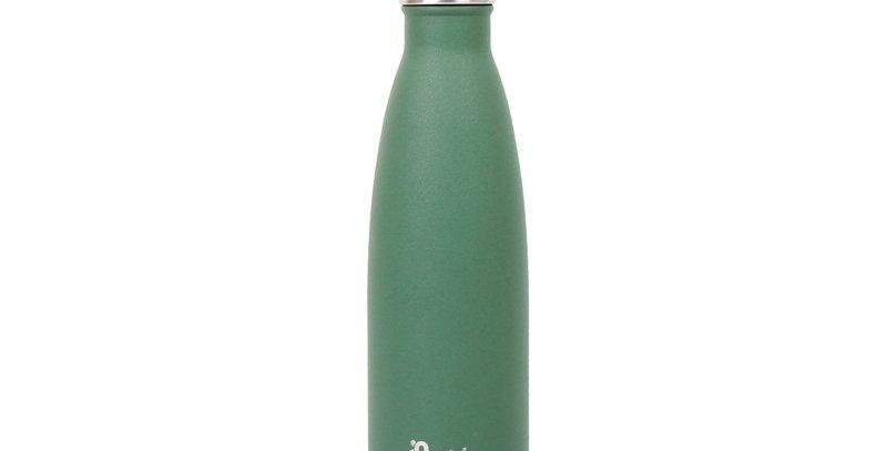 Qwetch Stainless Steel Water Bottle 500ml - Granite Khaki