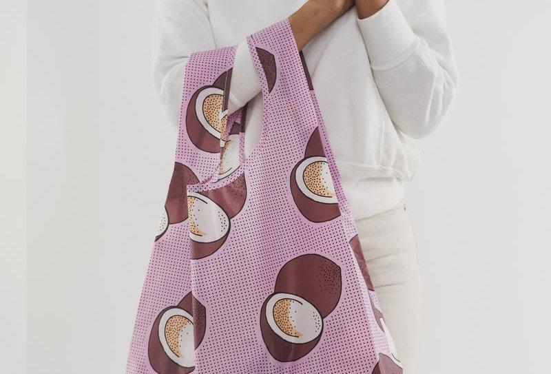 BAGGU Reusable Bag Standard x1 - Pink Coconut