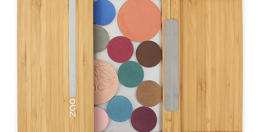Bamboo Magnetic Palette XL - Zao Makeup