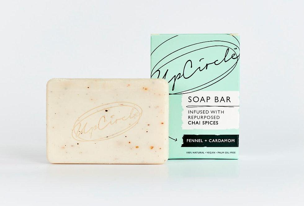Fennel & Cardamom Chai Soap Bar - UpCircle